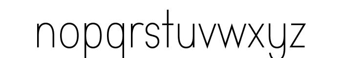 Aprikas Light Demo Font LOWERCASE