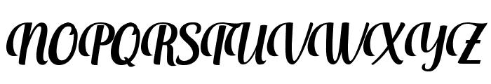 Aprilea Font UPPERCASE