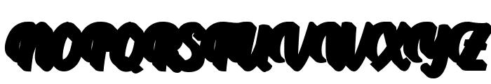 AprileaExtrudedDemo Font UPPERCASE