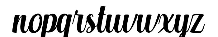 Aprilea Font LOWERCASE