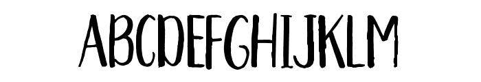 Aprils-Regular Font UPPERCASE