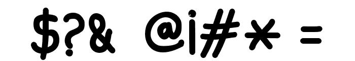 Aprim-Bold Font OTHER CHARS
