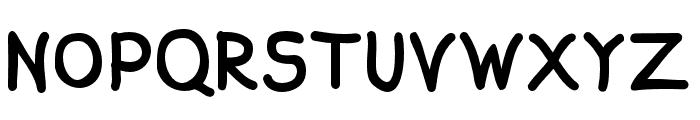 Aprim-Bold Font UPPERCASE