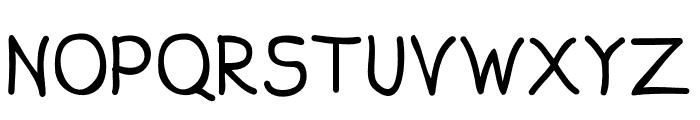 Aprim Font UPPERCASE