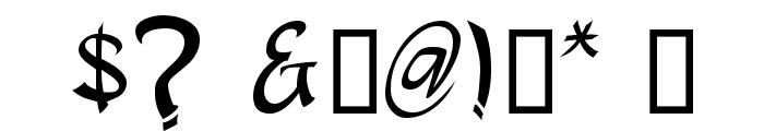 apantasia Font OTHER CHARS