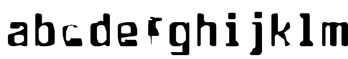 aptango Font LOWERCASE
