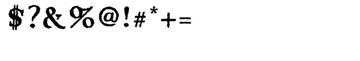 Apocrypha Regular Font OTHER CHARS