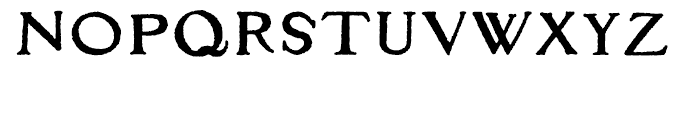 Apocrypha Regular Font LOWERCASE
