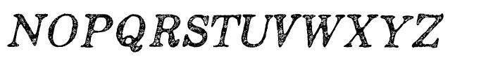 Appareo Light Italic Font UPPERCASE