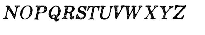 Appareo Medium Italic Font UPPERCASE