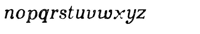 Appareo Medium Italic Font LOWERCASE