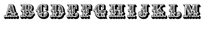Apple Pie Regular Font UPPERCASE