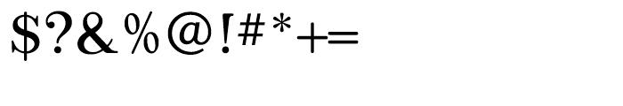 Appleyard Light Font OTHER CHARS