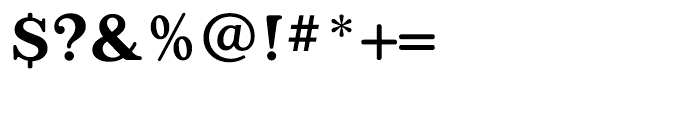 Appleyard Medium Font OTHER CHARS