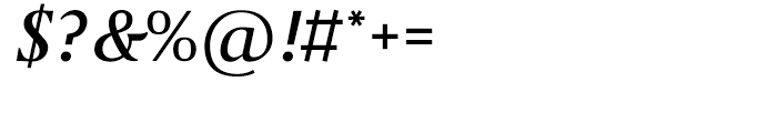 April Samuels Italic Font OTHER CHARS