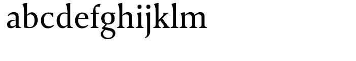 April Samuels Regular Font LOWERCASE