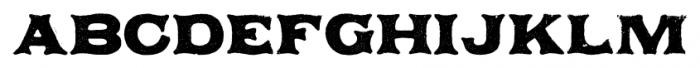 Applewood Alternate Pro Regular Font UPPERCASE