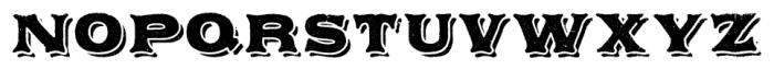 Applewood Pro Regular Font UPPERCASE