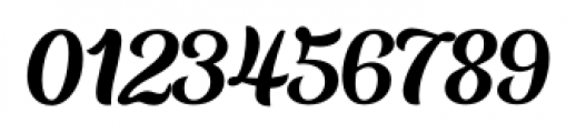 Aprilis Regular Font OTHER CHARS
