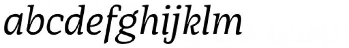 AP Pro Italic Font LOWERCASE