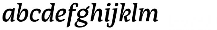 AP Pro Semi Bold Italic Font LOWERCASE