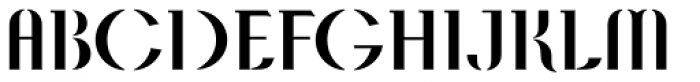 APF Lagoon Font UPPERCASE