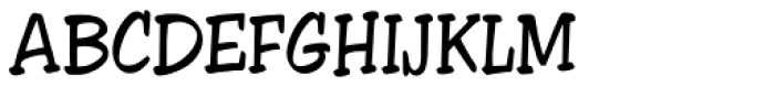 Apache URW Font UPPERCASE