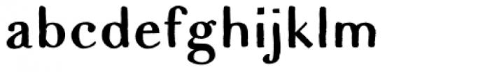 Apero Sans Font LOWERCASE