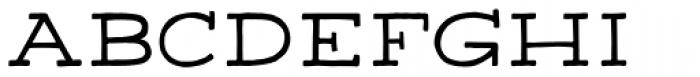 Apero Slab Regular Font UPPERCASE