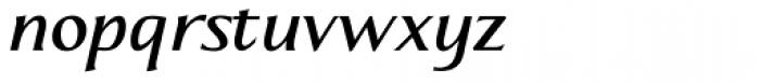 Aperto Bold Italic Font LOWERCASE