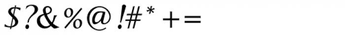 Aperto SemiBold Italic Font OTHER CHARS