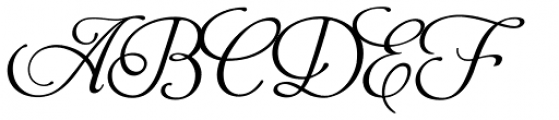 Aphrodite Pro Font UPPERCASE