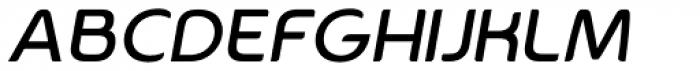 Aplica Alternate Italic Font UPPERCASE