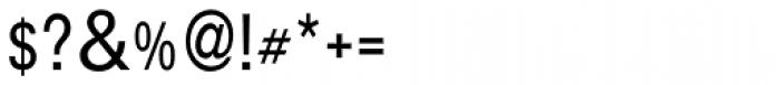 Aplikazia Cond MF Light Font OTHER CHARS