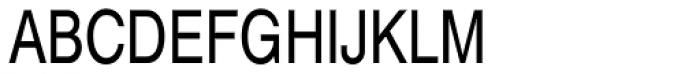 Aplikazia Cond MF Light Font UPPERCASE