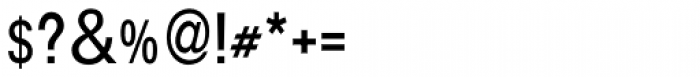 Aplikazia Cond MF Font OTHER CHARS