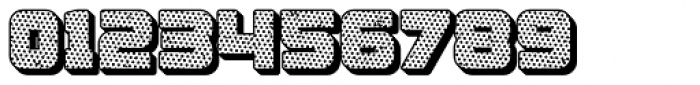 Apnea Drop Shadow Halftone Font OTHER CHARS