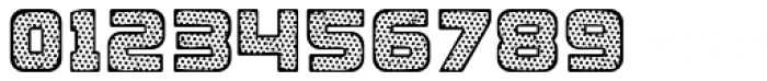Apnea Inline Halftone Font OTHER CHARS