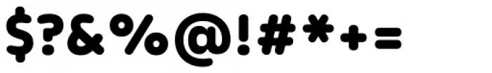 Apoka Black Font OTHER CHARS