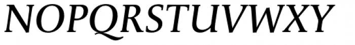 Apolline Std Book Italic Font UPPERCASE