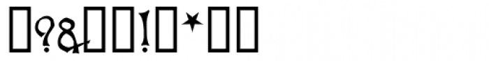 Apollyon Font OTHER CHARS