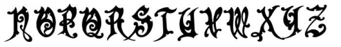 Apollyon Font UPPERCASE