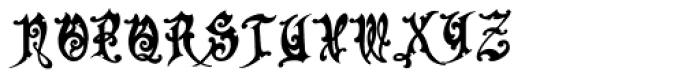 Apollyon Font LOWERCASE