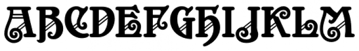 Appeal DT Font UPPERCASE