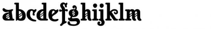 Appeal DT Font LOWERCASE