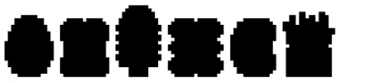 Applbitz Pix Base Font LOWERCASE
