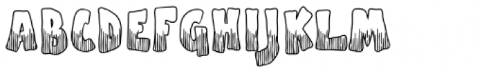 Apple Boy BTN Scratch Font UPPERCASE
