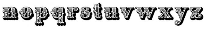 Apple Pie Font LOWERCASE