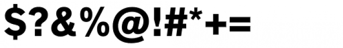 Applied Sans Black Font OTHER CHARS