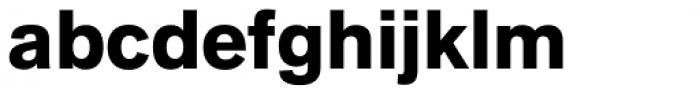 Applied Sans Black Font LOWERCASE
